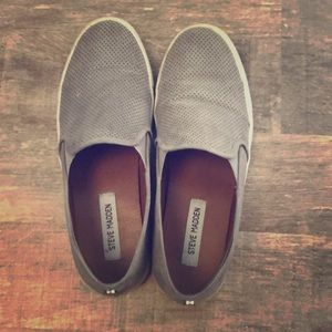 Gray Casual Tennis Shoes